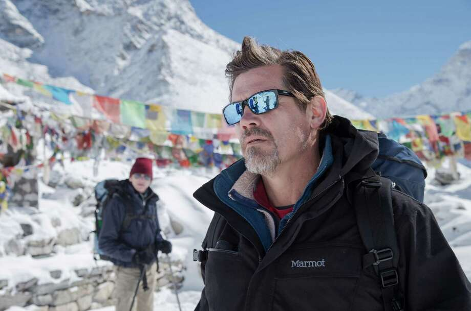 "This photo provided by Universal Pictures shows, Josh Brolin as Beck Weathers, in the film ""Everest."" The film debuts in IMAX/3D exclusively on Friday, Sept. 18, 2015, and opens wider in theaters the following week. (Jasin Boland/Universal Pictures via AP) Photo: Jasin Boland, Associated Press / Universal Pictures"