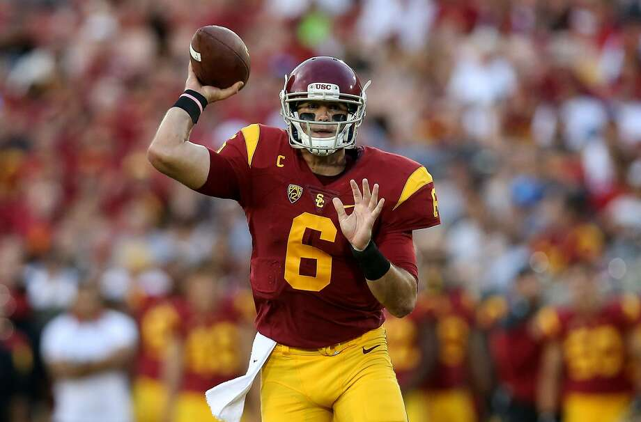 The Stanford defense's biggest challenge Saturday will be USC quarterback Cody Kessler, a Heisman Trophy candidate. Photo: Stephen Dunn, Getty Images
