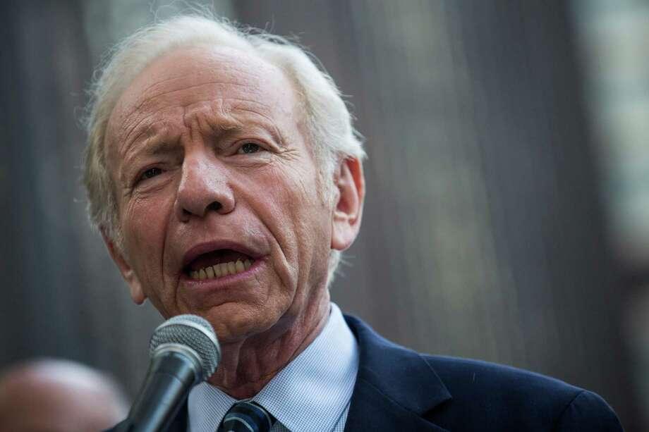 Former U.S. Sen. Joe Lieberman Photo: Andrew Burton / Getty Images / 2015 Getty Images