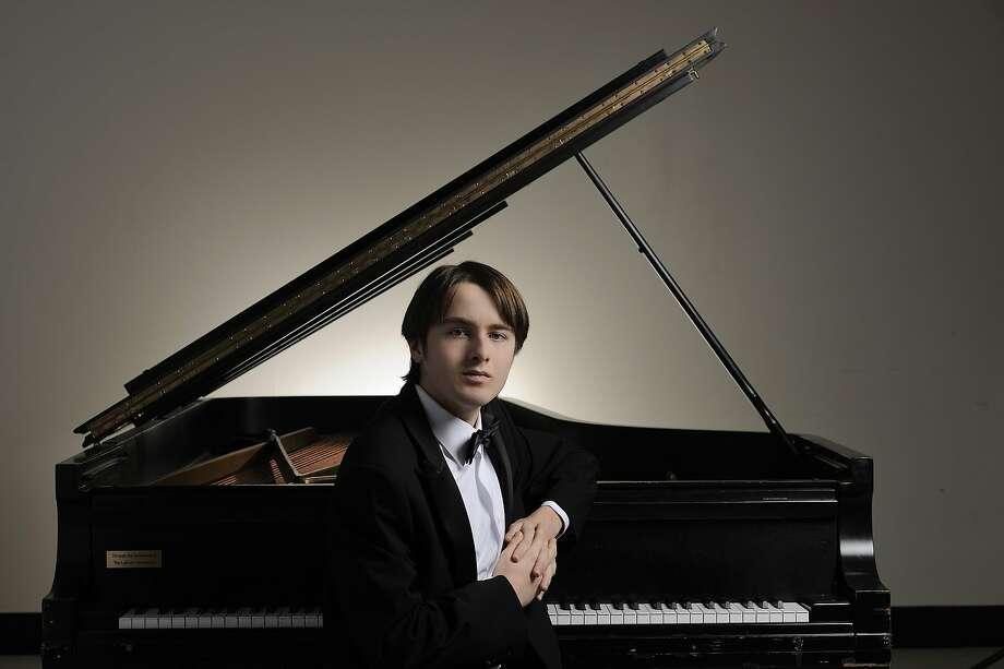 Daniil Trifonov will solo in Chopin's Piano Concerto No. 2. Photo: SF Symphony