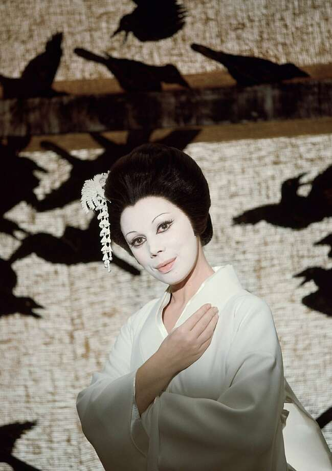 "Mirelli Freni in the title role of Puccini's ""Madama Butterfly."" Photo: Unitel Classica"