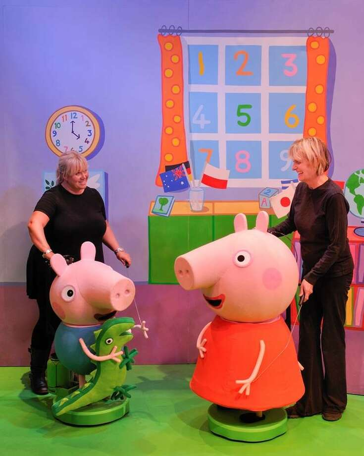 Tickets to Peppa Pig's Big Splash, Feb. 13 at Revention Music Center, go on sale at noon Saturday.