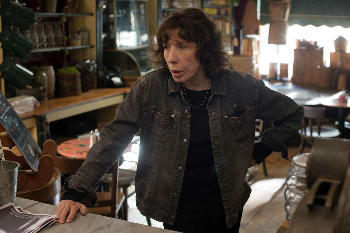 In this image released by Sony Pictures Classics, Lily Tomlin appears in a scene from