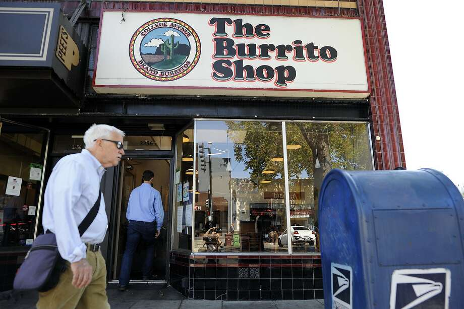 The Burrito Shop on Lakeshore Blvd. will be closing it's doors next week, in Oakland, CA Thursday, September 17, 2015. Photo: Michael Short, Special To The Chronicle