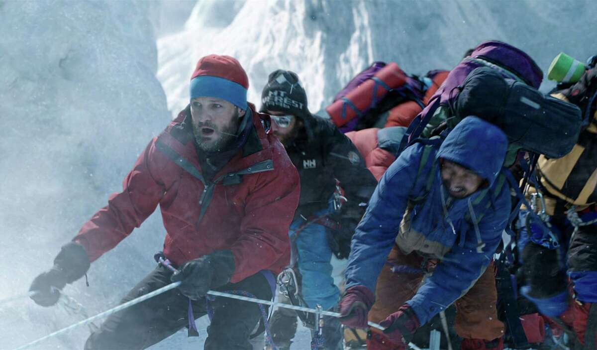 Rob Hall (Jason Clarke) leads the expedition in