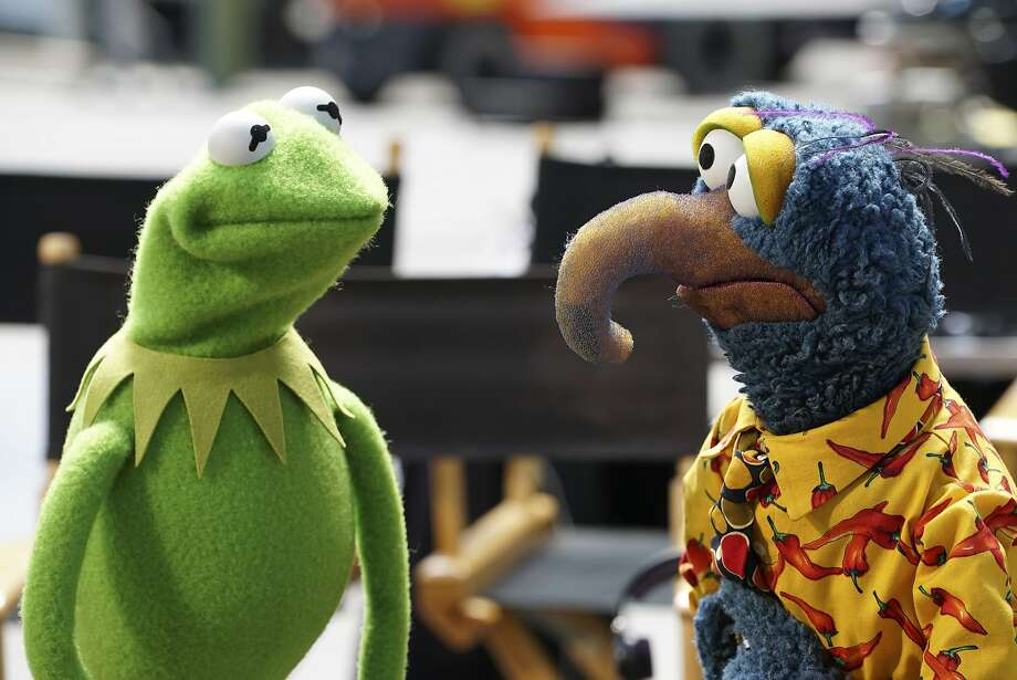 "Kermit the Frog and Gonzo the Great return to prime time as ""The Muppets"" courts a grown-up audience on ABC. Photo: Eric McCandless, Associated Press"