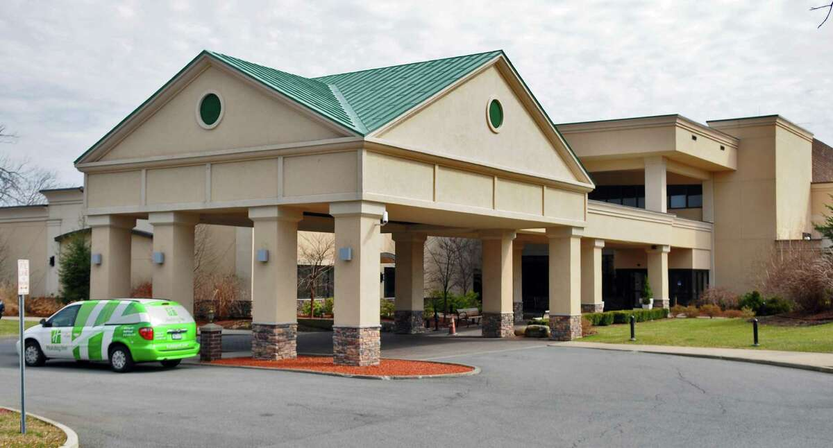 View of the Holiday Inn at 205 Wolf Road Monday, March 19, 2012, in Colonie, N.Y. (Philip Kamrass / Times Union archive)