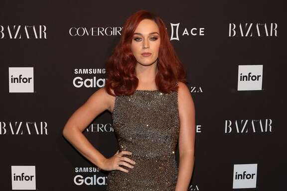 Katy Perry attends the 2015 Harper ICONS Party at The Plaza Hotel on September 16, 2015 in New York City. (Photo by Taylor Hill/FilmMagic)