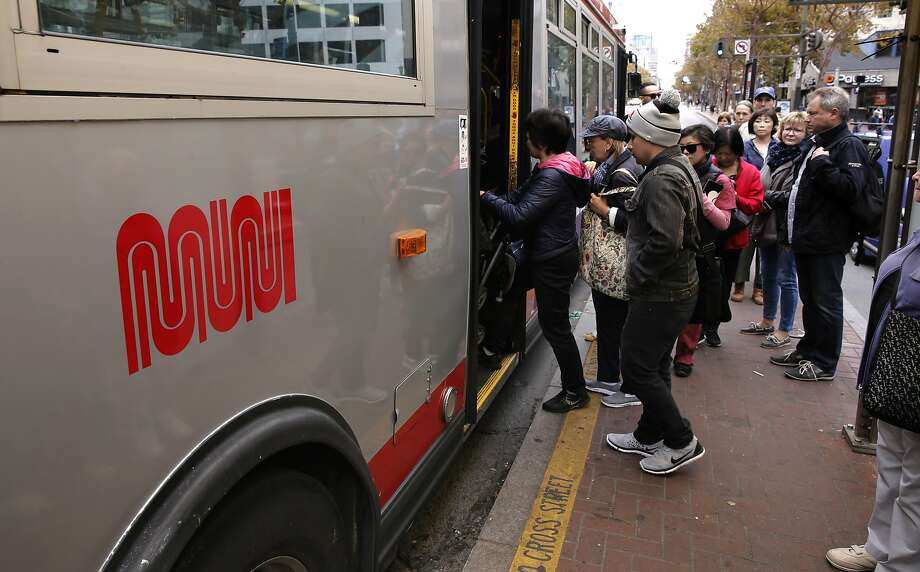A 27 year old woman stabbed a 10 year old boy on Muni's 23-Monterey bus Thursday with a knife at a verbal altercation.  Photo: Michael Macor, The Chronicle