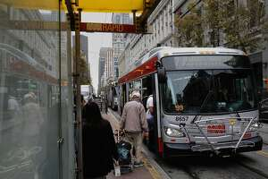 Riders give Muni higher marks, but what's their biggest gripe? - Photo