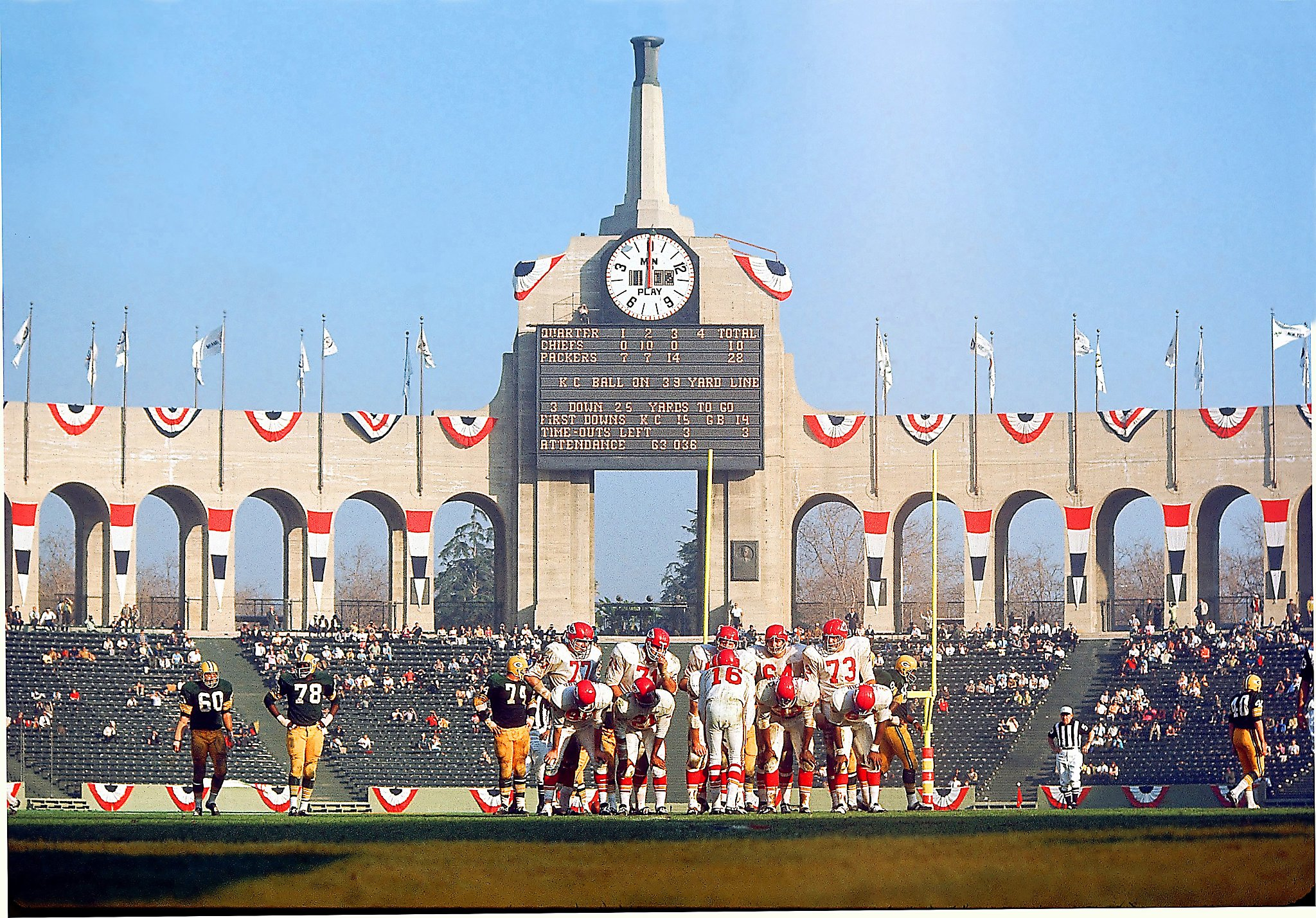 Super Bowl got its start at L.A. Coliseum