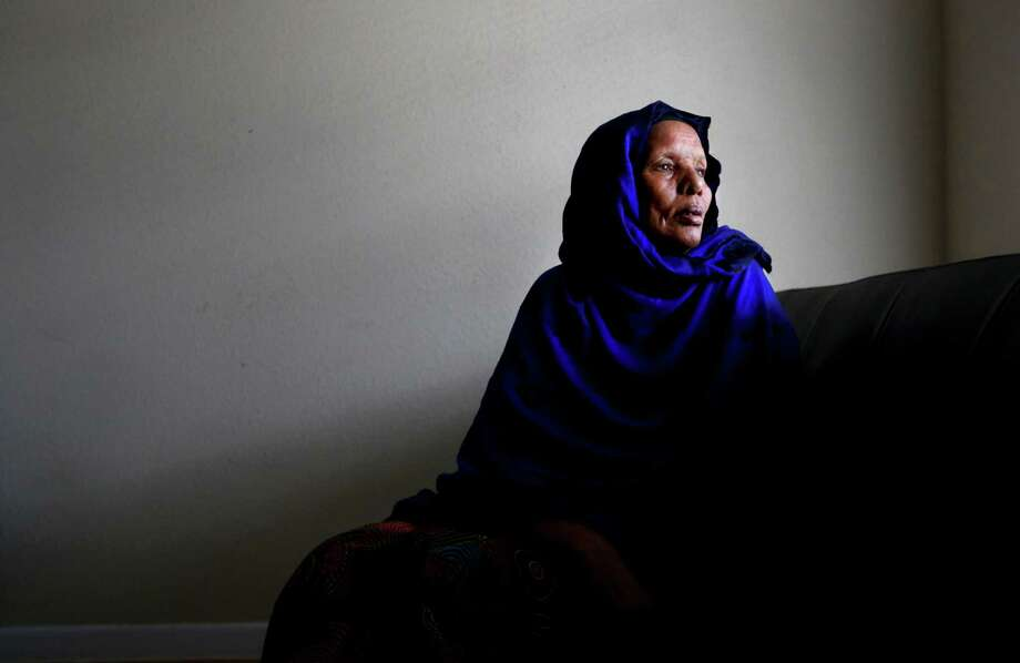 Maryan Muhumed's son, Aadan Abdillahi, 52, who is mentally challenged, went missing Sept. 8. The Somalian family was in Egypt since 2009 and came to Houston as refugees in May. Photo: Gary Coronado, Staff / © 2015 Houston Chronicle
