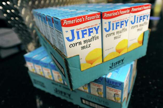 Boxes of corn muffin mix are on hand during preparations for Mississippi Day on Thursday, Sept. 17, 2015, at Victory Church Dream Center in Albany, N.Y. The 4th annual Mississippi Day in Lincoln Park on Saturday from noon to 8 p.m. (Cindy Schultz / Times Union) Photo: Cindy Schultz / 00033411A