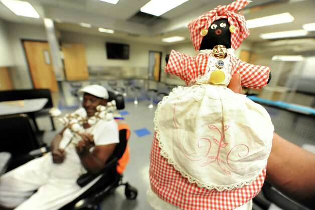 A doll from Mississippi is on hand as AVilliage members prepare for Mississippi Day on Thursday, Sept. 17, 2015, at Victory Church Dream Center in Albany, N.Y. The 4th annual Mississippi Day in Lincoln Park on Saturday from noon to 8 p.m. (Cindy Schultz / Times Union) Photo: Cindy Schultz / 00033411A