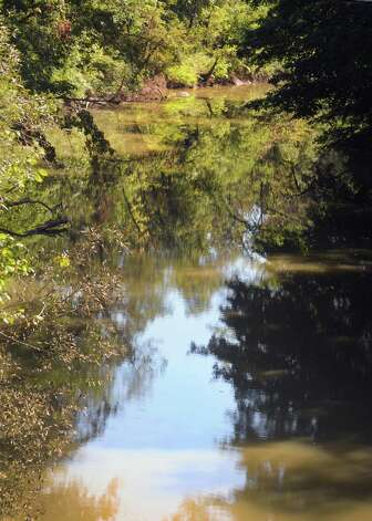 View of the Normans Kill Creek from New Scotland Road on Thursday Sept. 17, 2015 in Albany, N.Y.  (Michael P. Farrell/Times Union) Photo: Michael P. Farrell / 00033416A