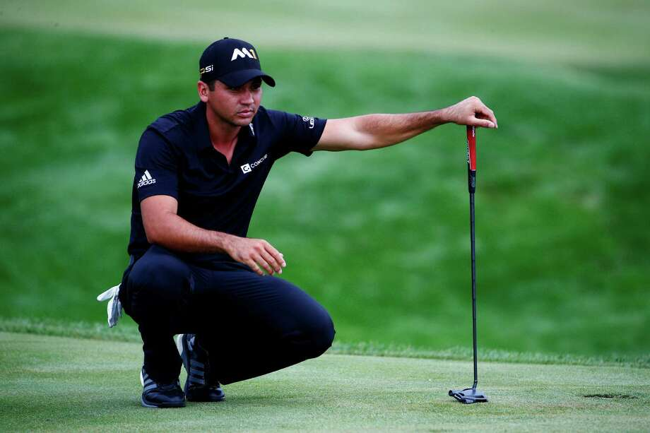 Jason Day, who is 10 under through 17 holes and leads the BMW Championship at Lake Forest, Ill., has a chance at a 59 when he resumes play on No. 18 this morning. His round Thursday afternoon was halted because of approaching storms. Photo: Jamie Squire, Staff / 2015 Getty Images