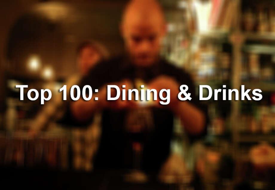 Taste's Top 100: Dining & Drinks winners of 2015.