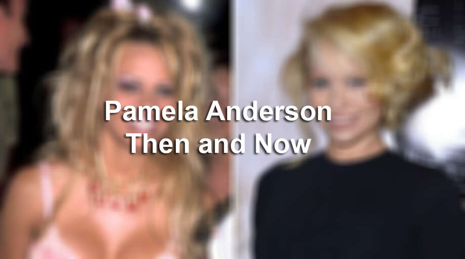 Pamela Anderson: Then and Now.