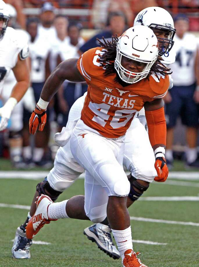 Linebacker Malik Jefferson is the face of the defense.  Photo: Michael Thomas, FRE / FR65778 AP