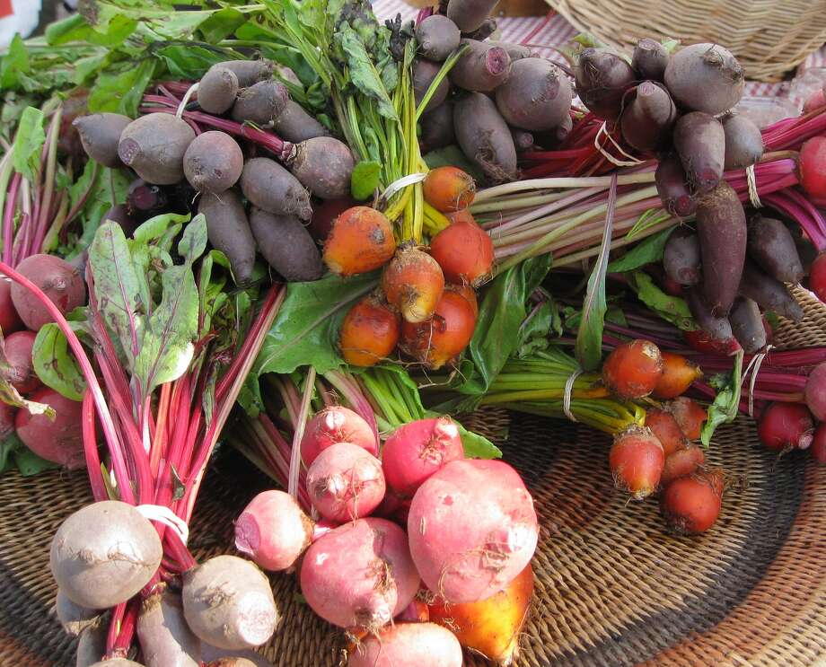 A rainbow of beets brings color and flavor to the fall garden. Photo: Chris LaChance