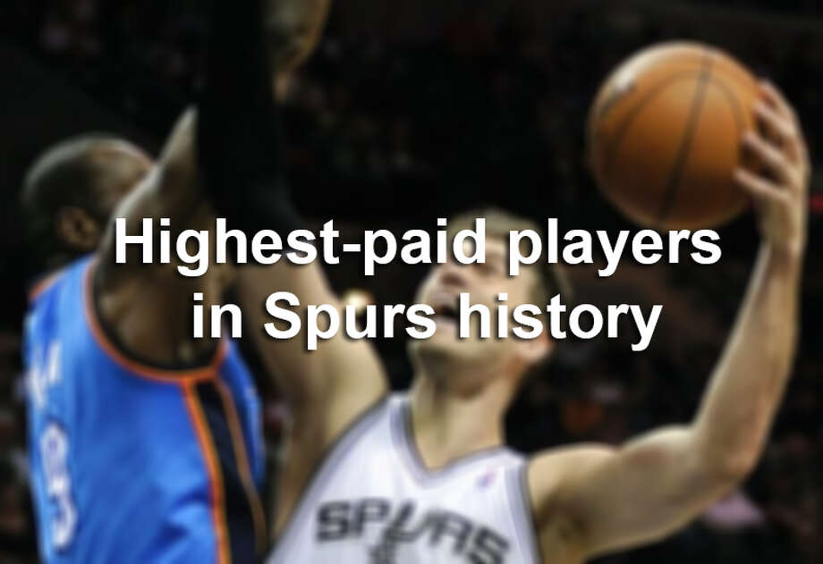 Click through the slideshow to see which Spurs earned the most.