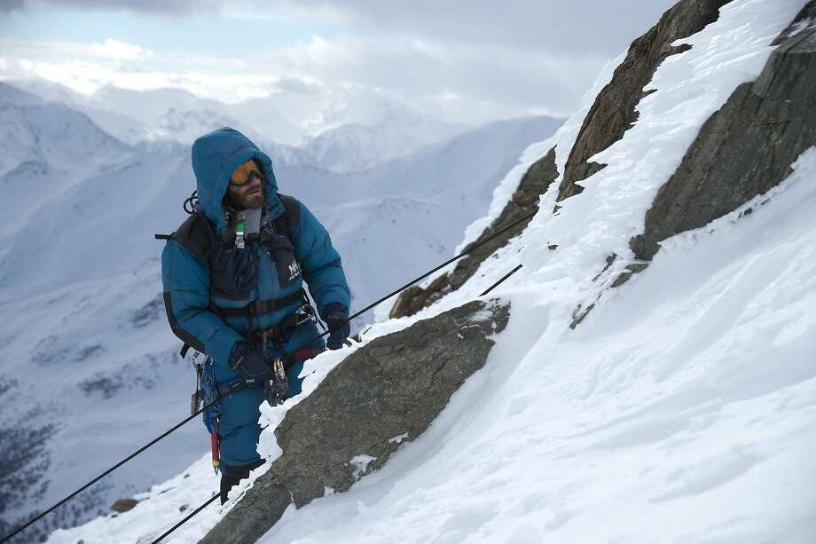 "Jake Gyllenhaal as Scott Fischer in ""Everest"": filming on Mount Everest and in the Alps was an adventure in itself. Photo: Jasin Boland, Associated Press"