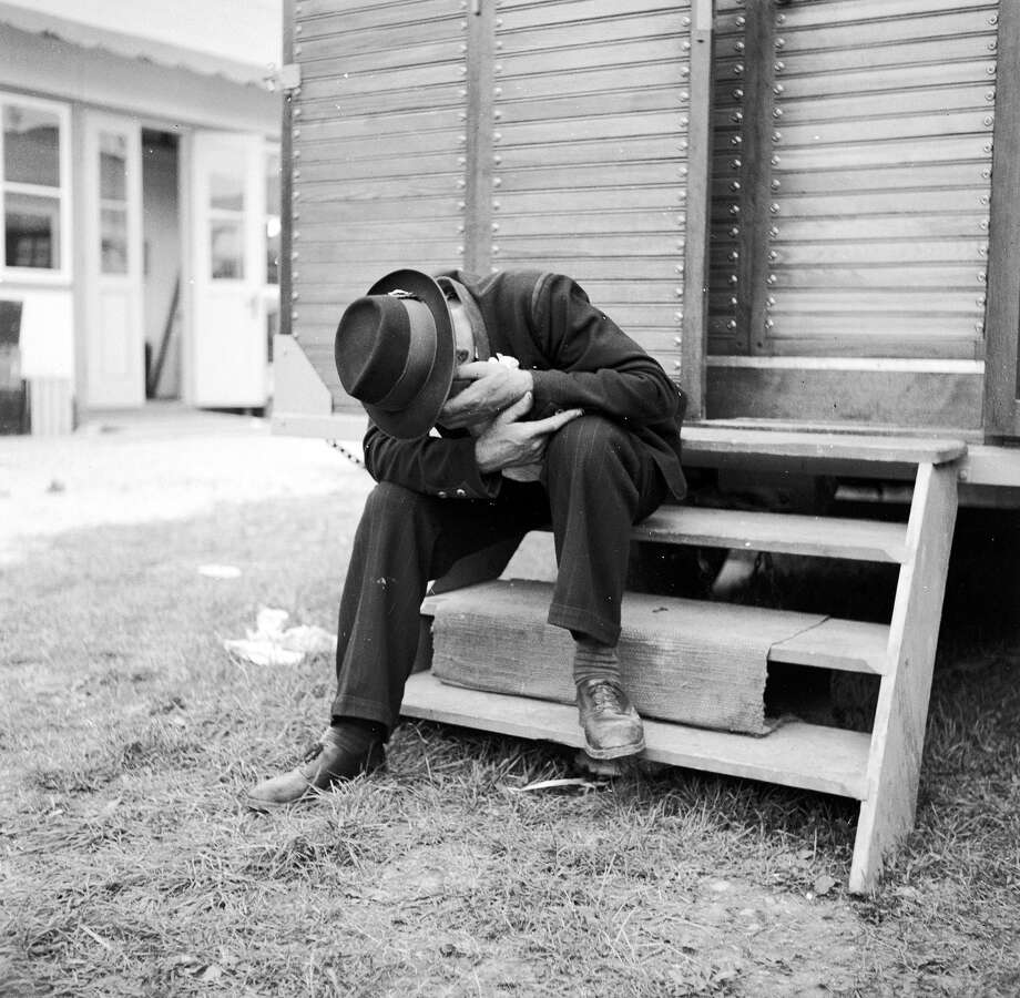 An early casualty of the Munich Oktoberfest, 1950. Photo: Three Lions, Getty Images / Hulton Archive