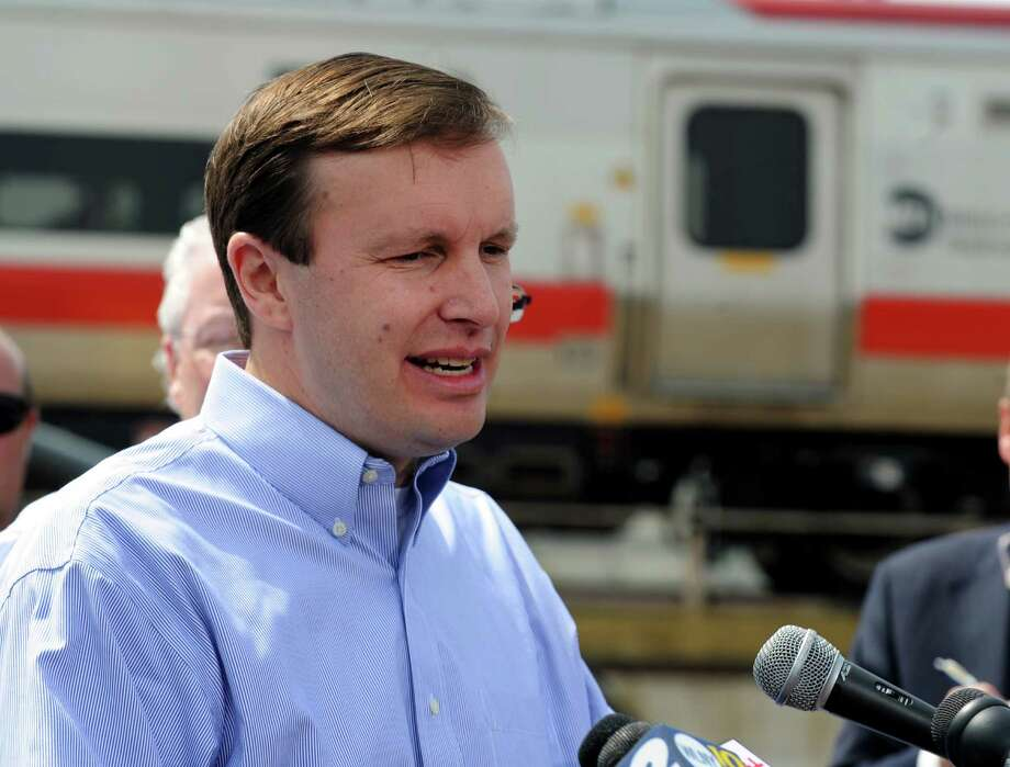 U.S. Sen. Chris Murphy will take a ride on Metro-North's Waterbury branch line on Monday, Sept. 21, 2015 to hear comments from passengers on the line's service. Photo: Cathy Zuraw / Connecticut Post