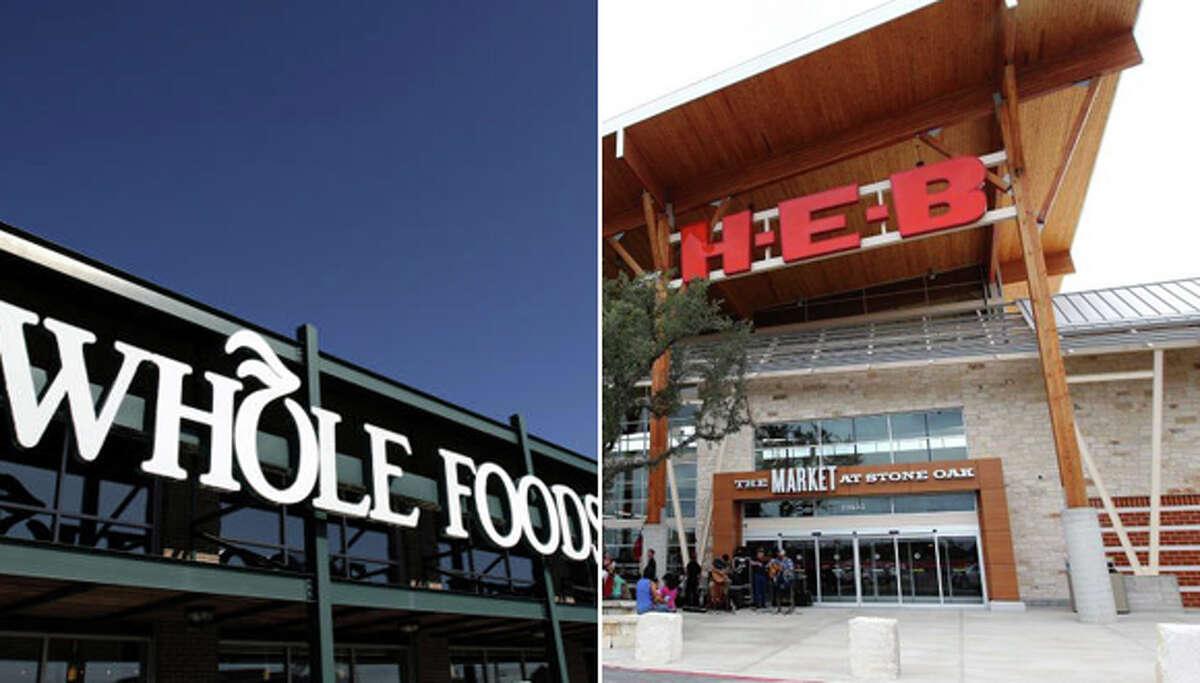 Whole Foods vs. H-E-B: A price comparison