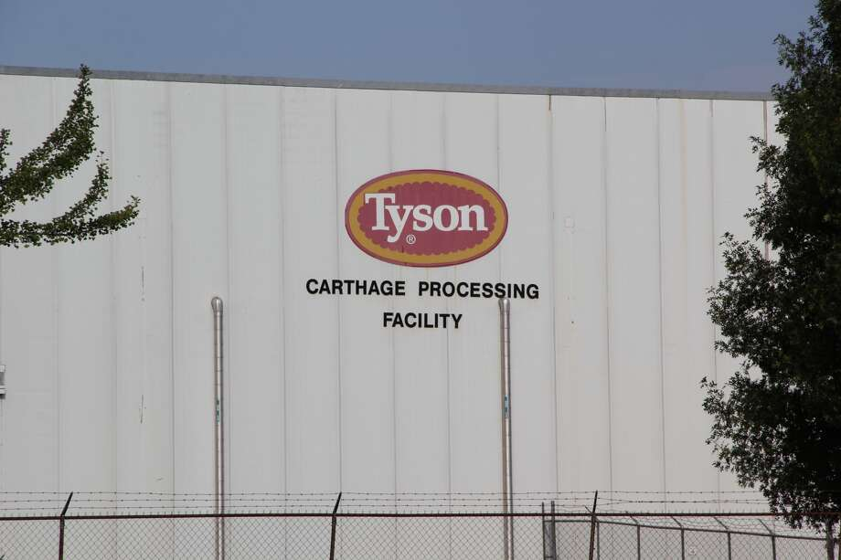 Undercover video from an employee of an East Texas Tyson Foods facility prompted the Animal Legal Defense Fund to file federal complaints against the food giant, charging that high production quotas forced inhumane treatment of animals. WARNING: Images may be disturbing to some readers.