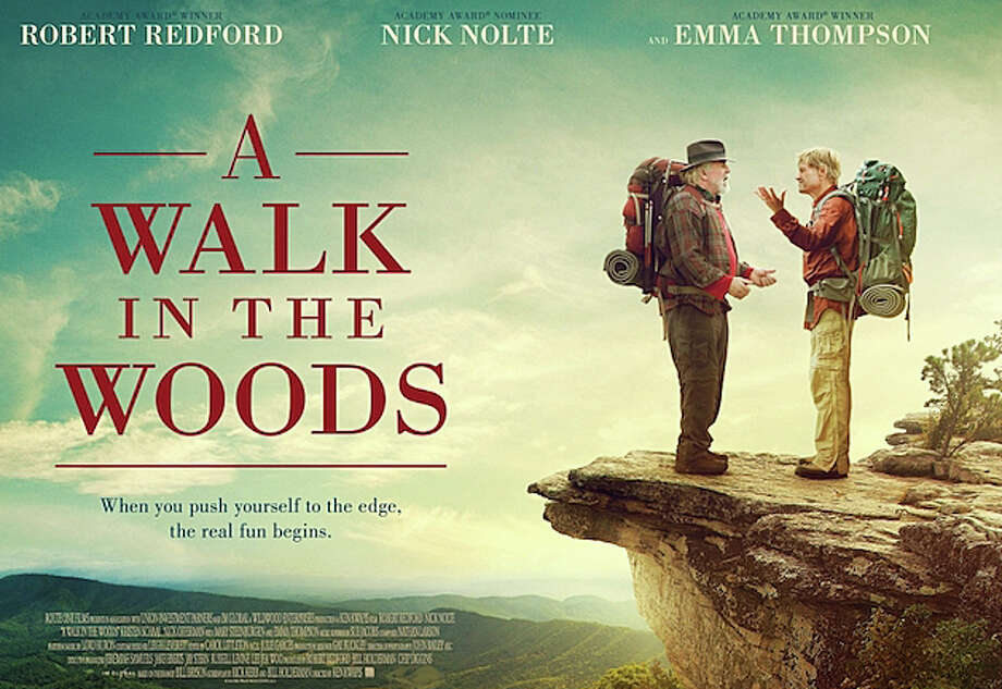 """A Walk in the Woods"" stars Robert Redford as a travel writer who attempts to hike the Appalachian Trail. Photo: Contributed / Contributed Photo / Westport News"