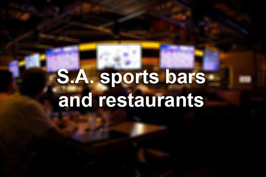 Click through the slideshow for recommendations on where to watch your favorite sports in San Antonio.