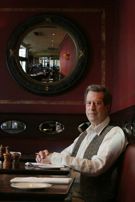Bill Russell-Shapiro, proprietor of The Absinthe Group, poses for a portrait at Absinthe Brasserie and Bar on Friday, September 18, 2015 in San Francisco, Calif. Photo: Lea Suzuki, The Chronicle