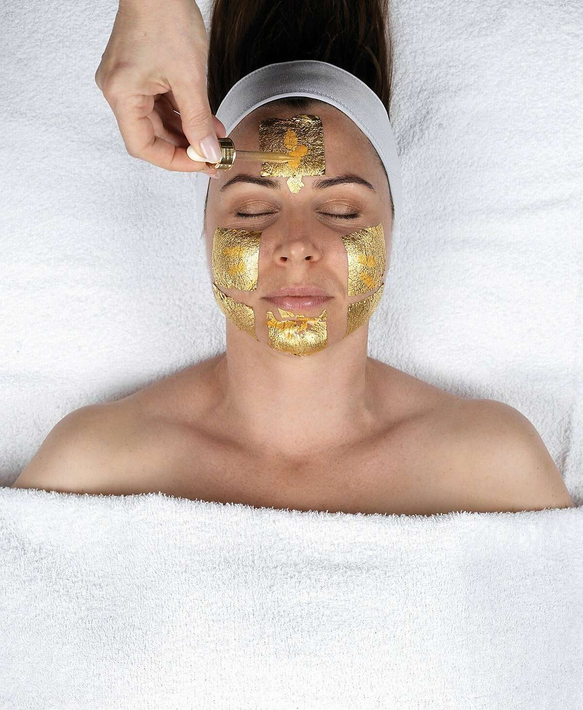 Caviar & Carat Facial with Gold Leaves. Facials start at $135. LaBelle Day Spa, 233 Grant Ave., S.F.