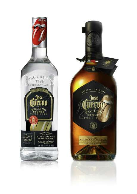 This week, Jose Cuervo released two limited- edition tequila bottles to celebrate the role Jose Cuervo played in fueling the Rolling Stones' 1972 North American tour. Photo: Jose Cuervo