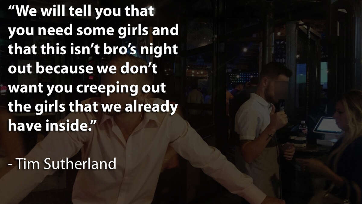 Choice quotes from a six-minute video uploaded in defense of an embattled Midtown Houston bar.