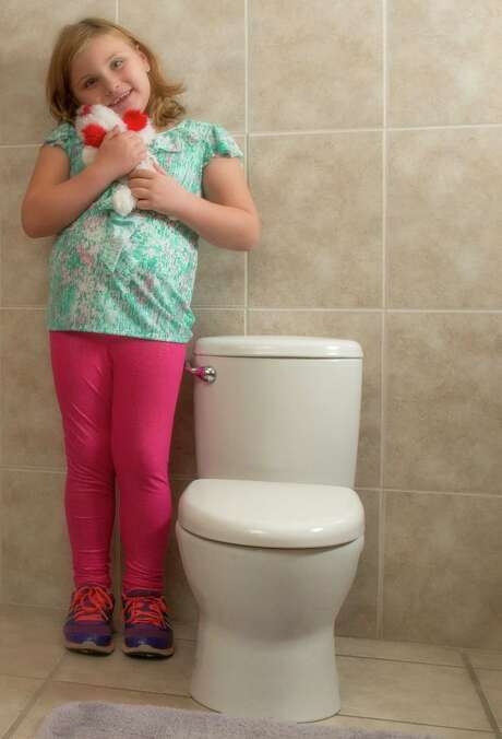 Mansfield Plumbing, based in Ohio, introduced its Elementary toilet for children 3 to 9 in 2013. Photo: Courtesy / FredHansenPhoto