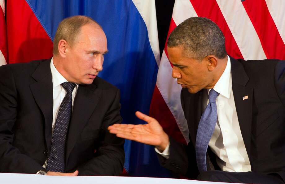 Russian President Vladimir Putin has proposed meeting with the Obama administration about the Syria situation. Photo: Stephen Crowley, New York Times