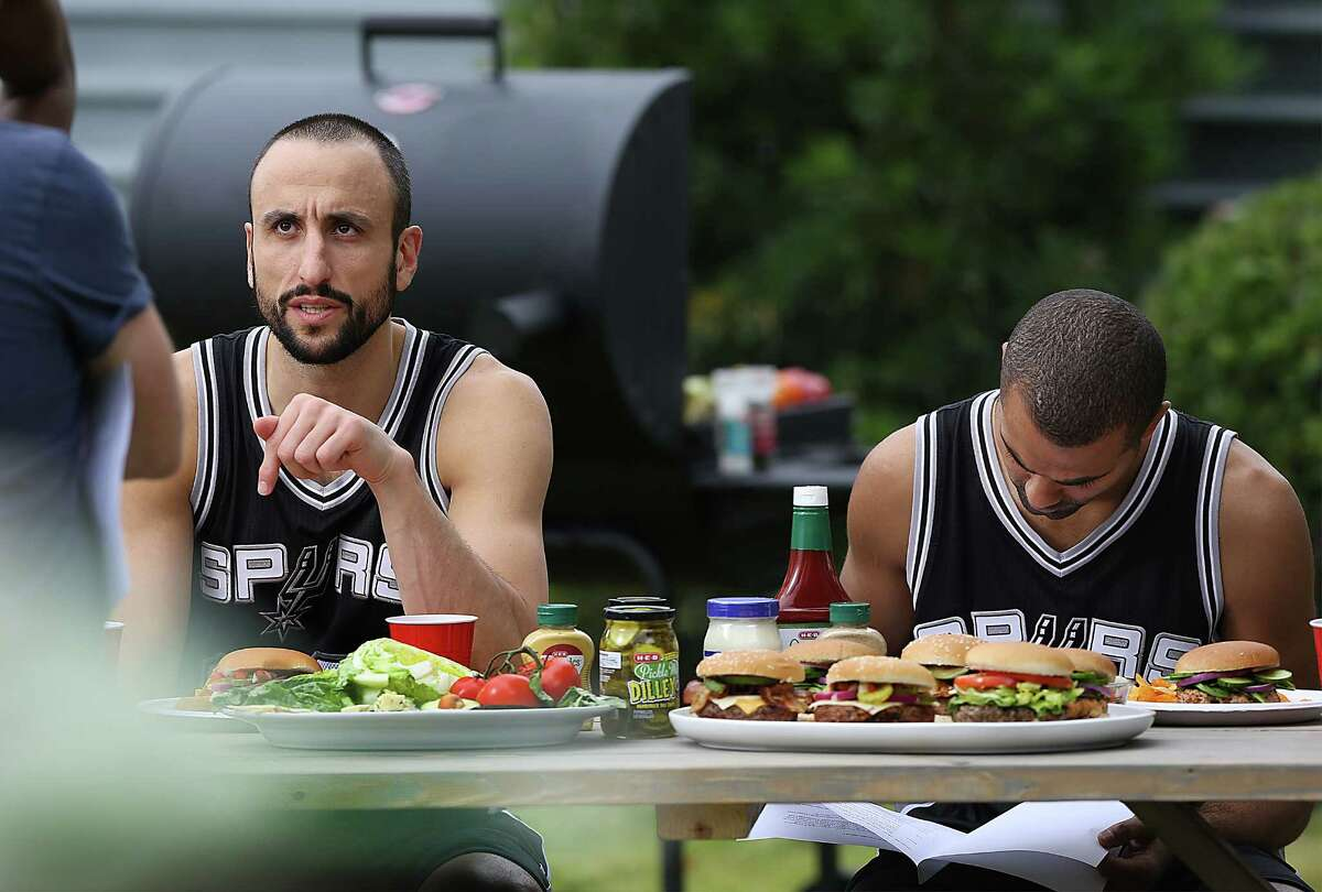 Following the retirement of longtime Spur Manu Ginobili, H-E-B made a playlist of the company's favorite commercials featuring Ginobili. Click through the slideshow to see which commercials were included.