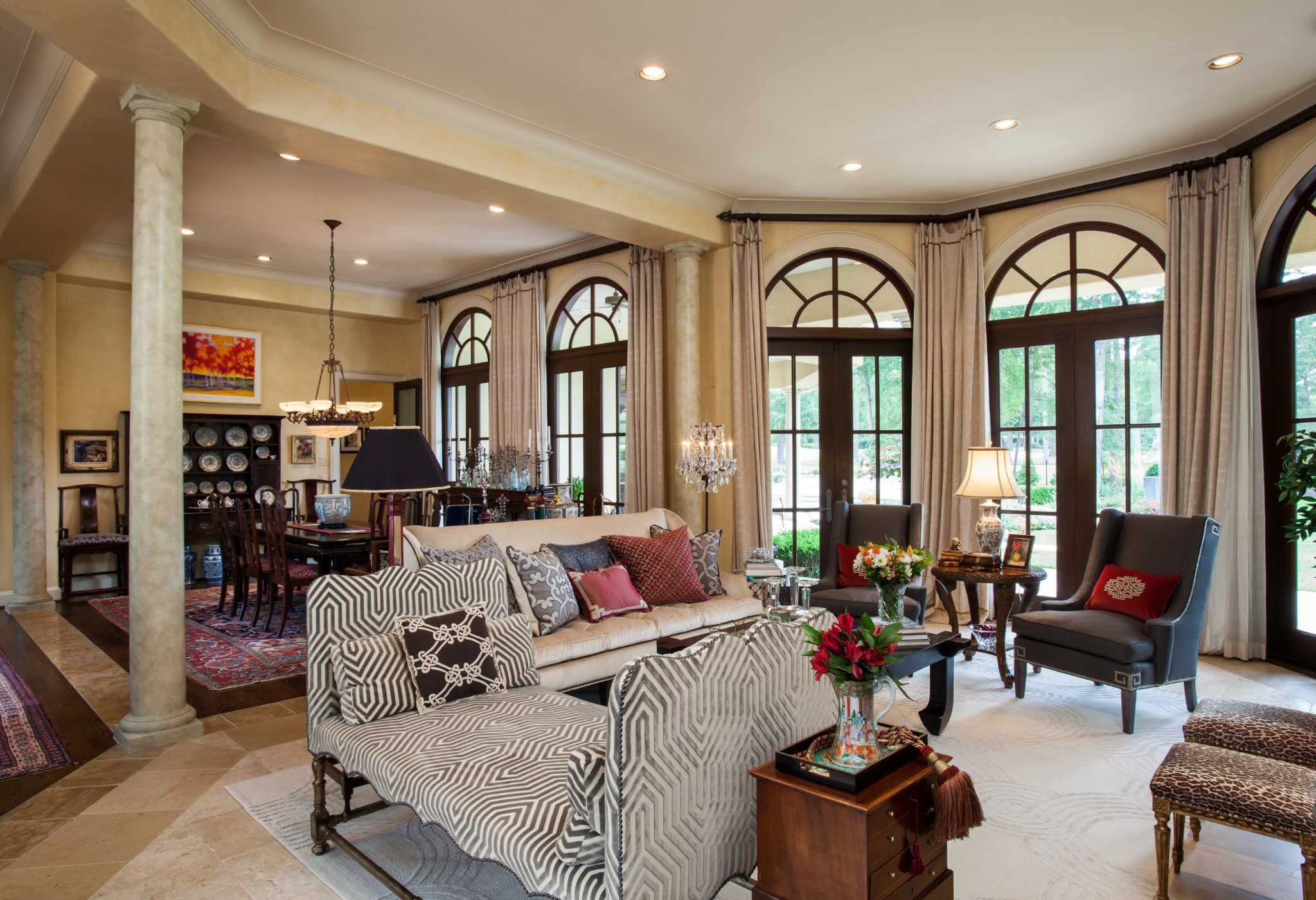 A Total Redesign For A Coupleu0027s 7,800 Square Foot Woodlands Home   Houston  Chronicle