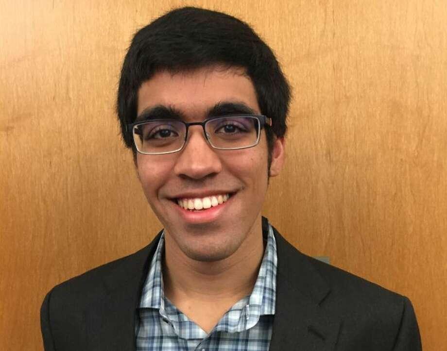 Zaakir Tameez, founder of the HISD Student Congress. Photo: Courtesy HISD Student Congress