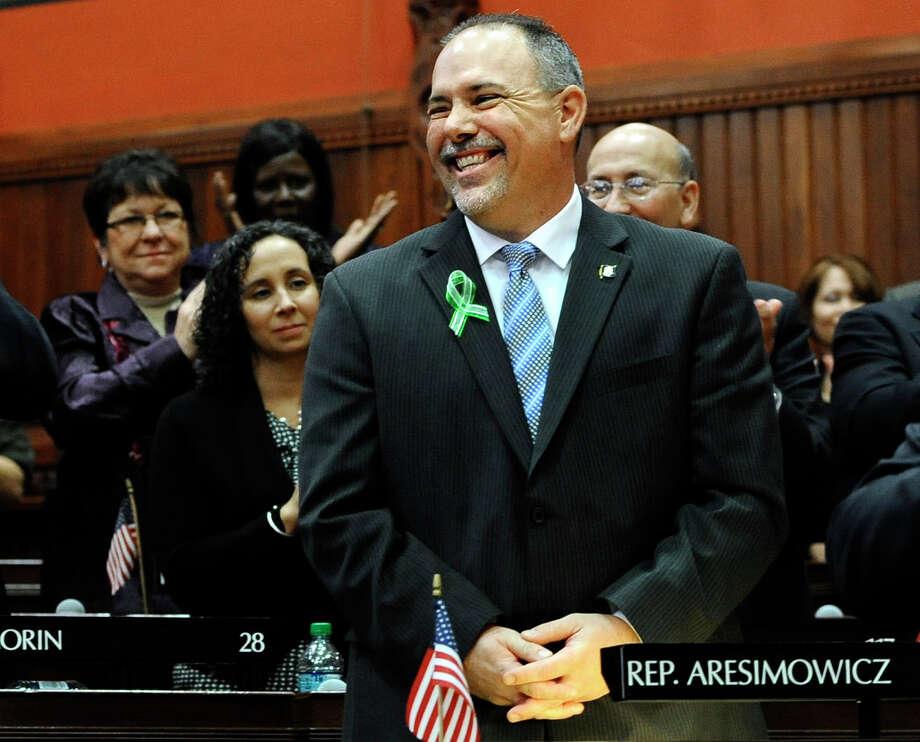 Connecticut House Majority Leader Joe Aresimowicz Photo: Jessica Hill / AP Photo /Jessica Hil / Associated Press (AP Photo/Jessica Hill)