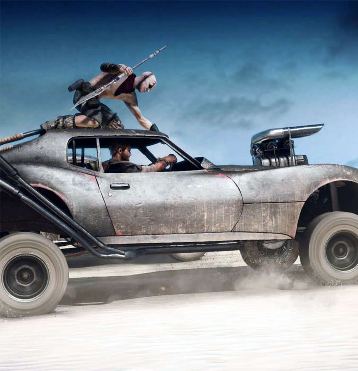 """Warner Bros. Interactive takes you back into the post-apocalyptic world of Max Rockatansky and one of the best vehicular combat games since """"Twisted Metal."""""""