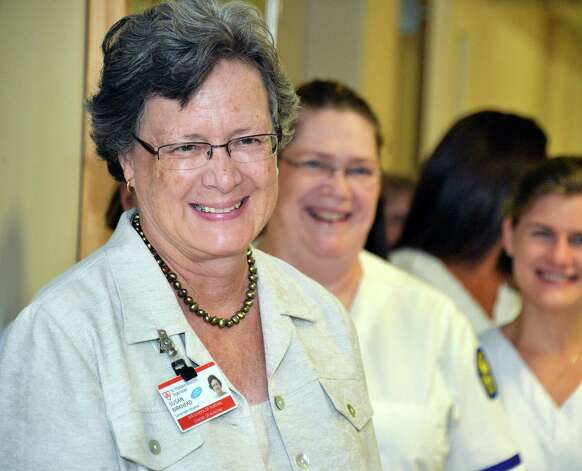 Samaritan School of Nursing director Susan Birkhead during ceremonies unveiling the school's new home at St. Mary's Hospital Friday Sept. 18, 2015 in Troy, NY.  (John Carl D'Annibale / Times Union) Photo: John Carl D'Annibale / 00033415A
