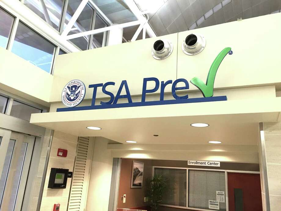 The Transportation Security Administration's PreCheck application center in Terminal A of the San Antonio International Airport. Qualified travelers can enroll and pay a fee for five-year membership in the expedited security clearance program. Photo: Courtesy /