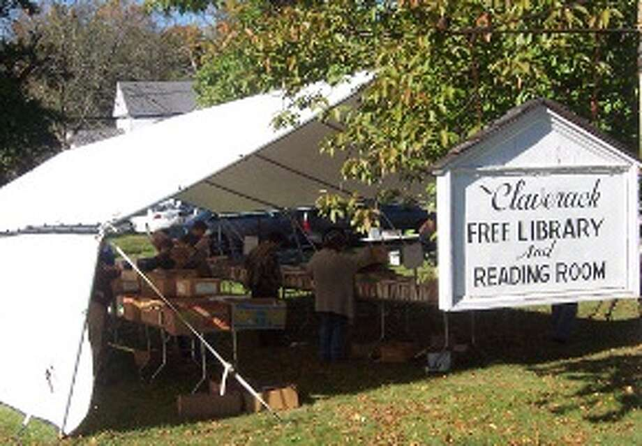 Claverack Free Library will hold its annual fall book festival on October 2, 3 and 4. This event, combined with the spring book festival, generates nearly 10 percent of the library's operating budget, supplementing individual donations from the community, support by town and county government, and grants from local institutions. (Submitted photo)