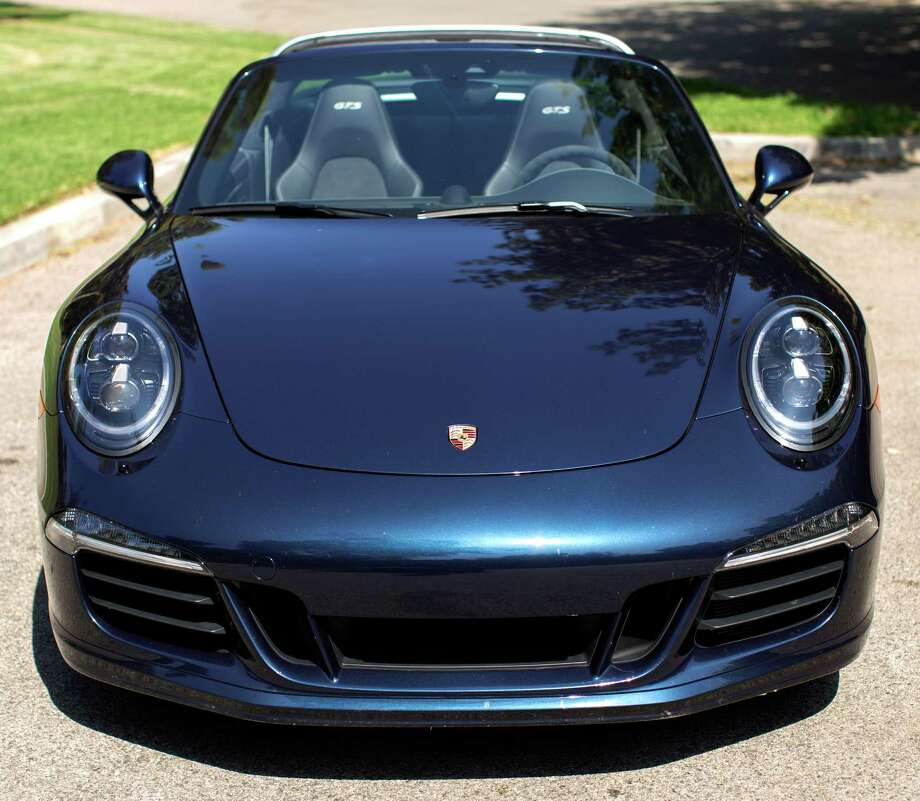 Sales of luxury autos like this 2016 Porsche 911 Targa 4 GTS appear to be doing well in the Houston area among a mixed set of customers, one dealer said. Photo: Jeff Amlotte, MBR / Los Angeles Times
