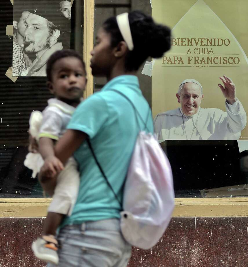 """Catholic publications have piled up their critiques on the pope.  A writer for the conservative Catholic publication First Things has called Pope Francis """"an ideologue and a meddlesome egoist.""""  Photo: FILIPPO MONTEFORTE, Staff / AFP"""