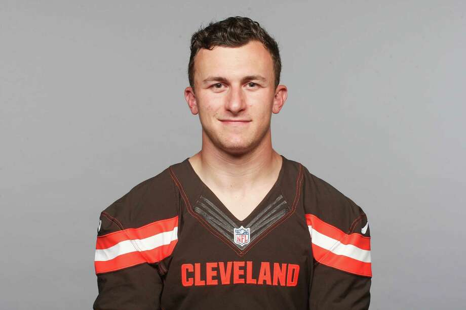 This is a 2015 photo of Johnny Manziel of the Cleveland Browns NFL football team. This image reflects the Cleveland Browns active roster as of Tuesday, June 9, 2015 when this image was taken. (AP Photo) Photo: FRE / NFLPV AP