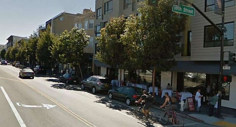 Casey Bissell, 25, was found fatally stabbed near the corner of 18th and Valencia streets on Dec. 7, 2014. On Sept. 18, 2015, Andres Novelo, who was convicted of Bissell's murder, was sentenced to nearly 20 years in prison. Photo: Google Maps